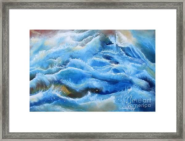 Miracles Framed Print by Nereida Rodriguez