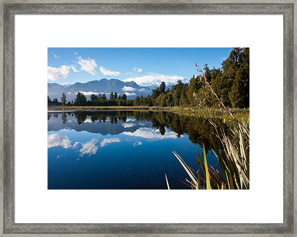 Mirror Landscapes Framed Print