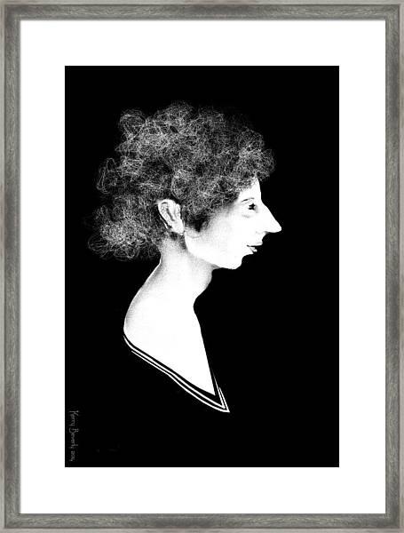 Miss Havisham Framed Print