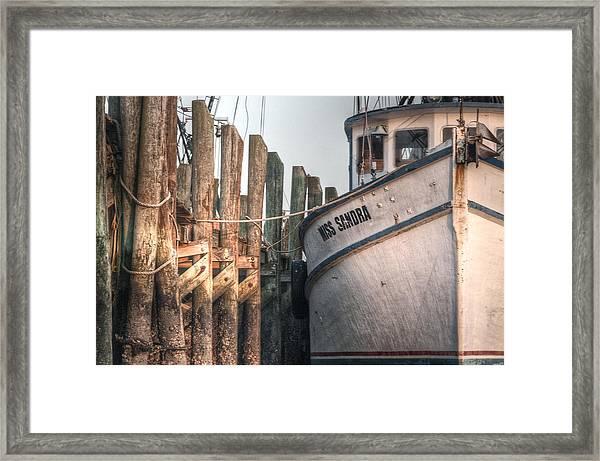 Miss Sandra Framed Print