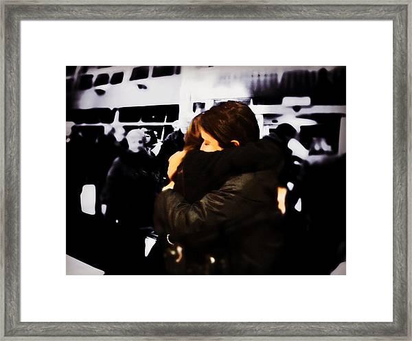 Missing You Already Framed Print