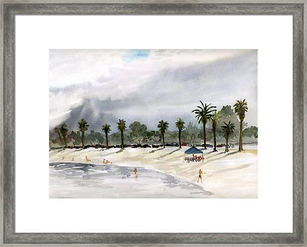 Mission Bay 2 Framed Print