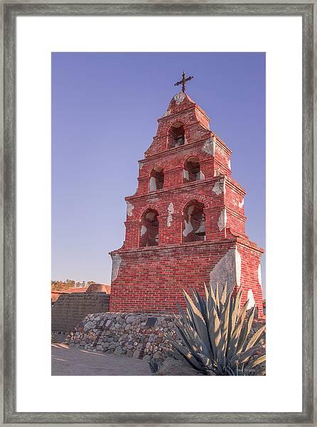 Mission Bells Framed Print