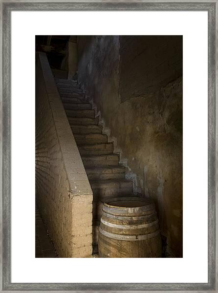 Mission San Antonio De Padua Jolon Ca Framed Print