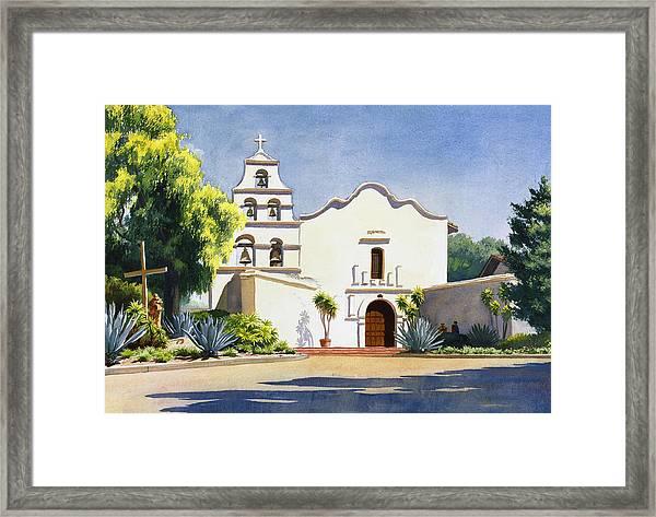 Mission San Diego De Alcala Framed Print