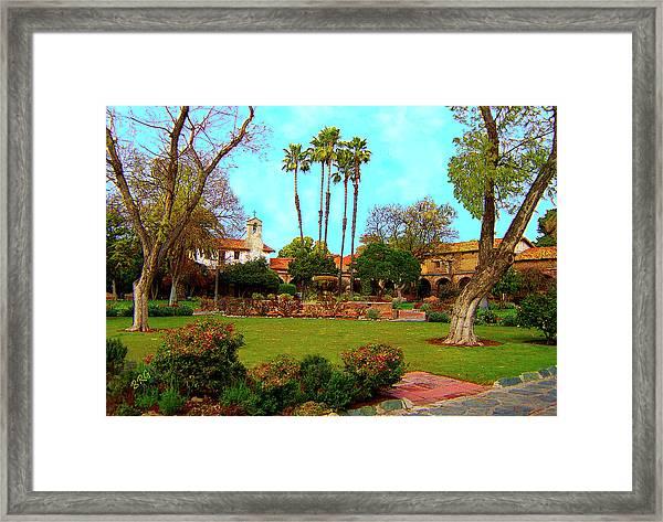Mission San Juan Capistrano No 11 Framed Print