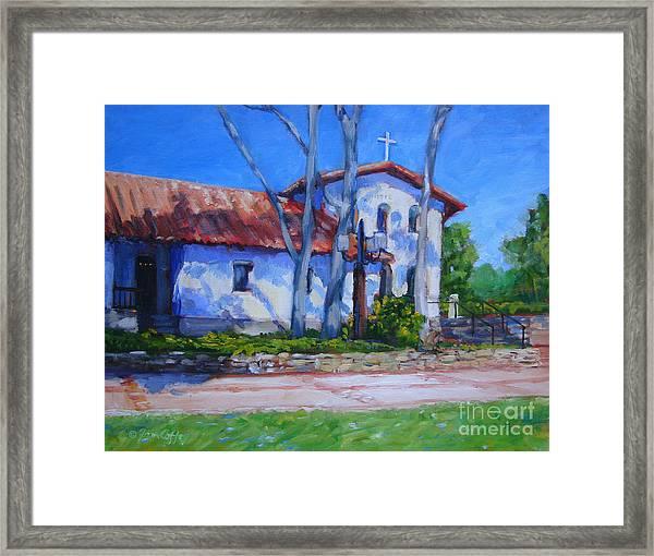 Mission San Luis Obispo Framed Print