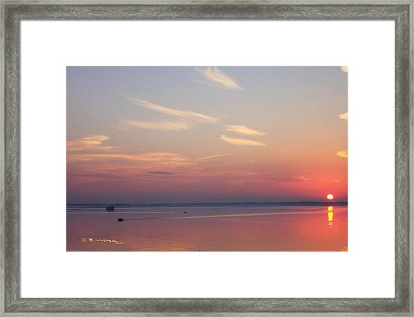 Missisquoi Autumn - Coming Home Framed Print