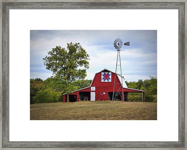 Missouri Star Quilt Barn Framed Print