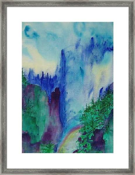 Mist Framed Print by Phoenix Simpson