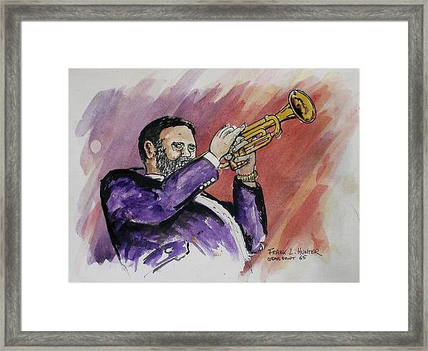 Mister Too Many Notes Framed Print