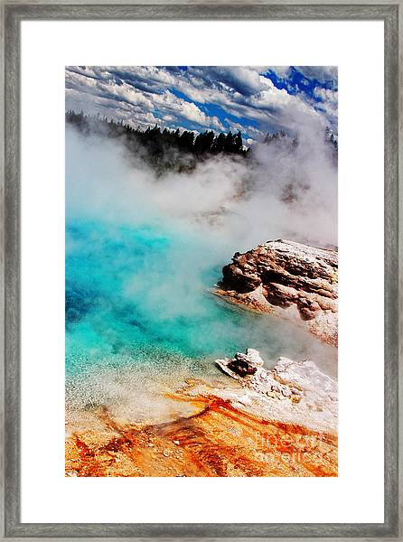 Mists Of Another World Framed Print