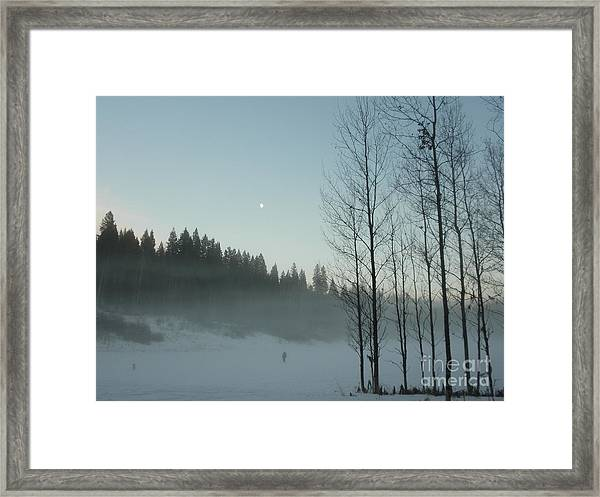 Misty Meadow Framed Print