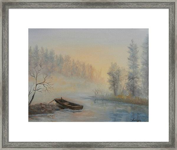 Misty Morning Framed Print