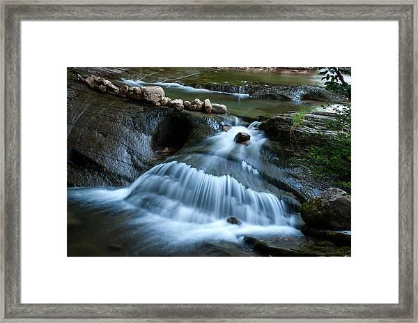 Miykovska River 3 Framed Print