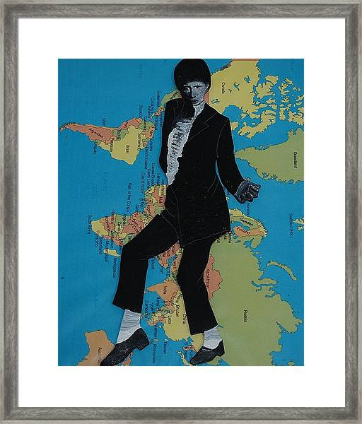 Mj Billie Jean Framed Print