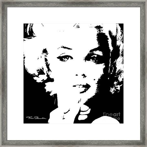 Mm 132 Sw Framed Print