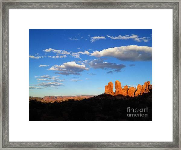 Moab Framed Print