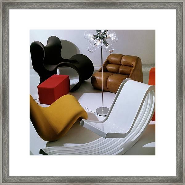 Modern Chairs Framed Print