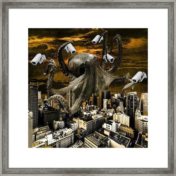 Modern Freedom Framed Print