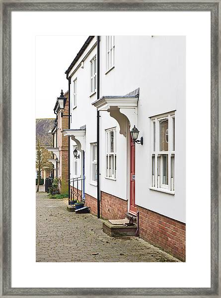 Modern Homes Framed Print