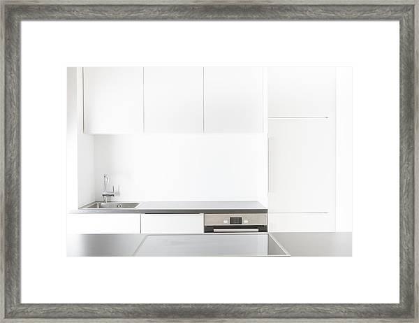 Modern Kitchen Framed Print by Westend61