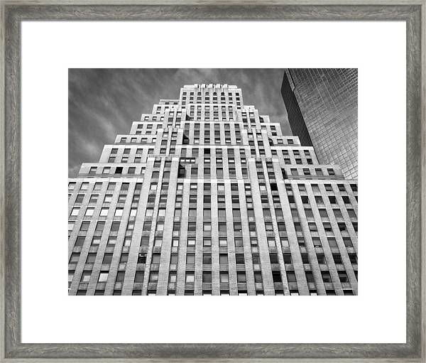 Framed Print featuring the photograph Modern Pyramid  by Steve Stanger