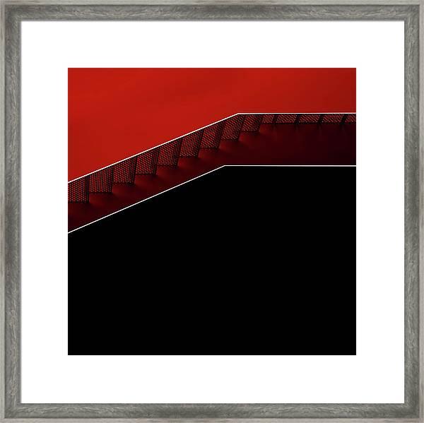 Modern Staircase Framed Print
