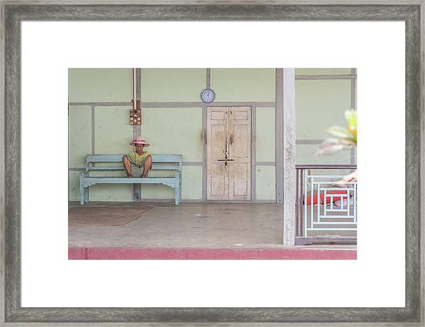 ''modernity'' Is Coming... Framed Print
