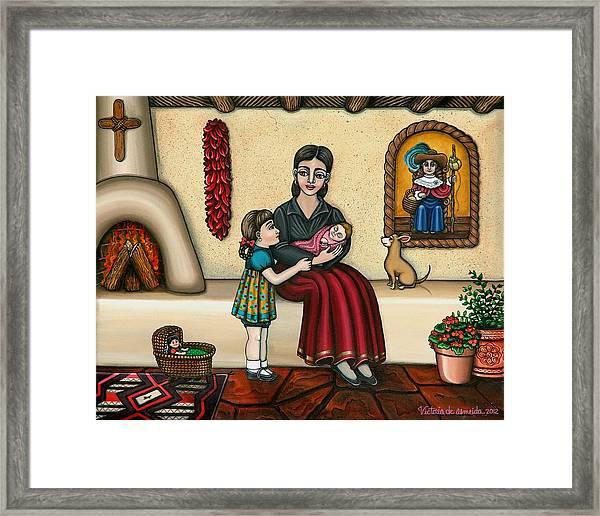 Momma Do You Love Me? Framed Print