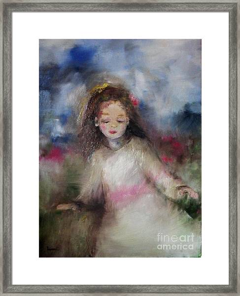 Mommy's Little Girl Framed Print