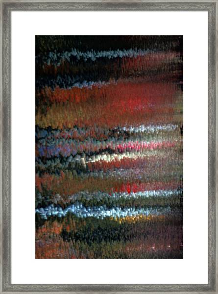 Mon Hommage A Rothko Framed Print