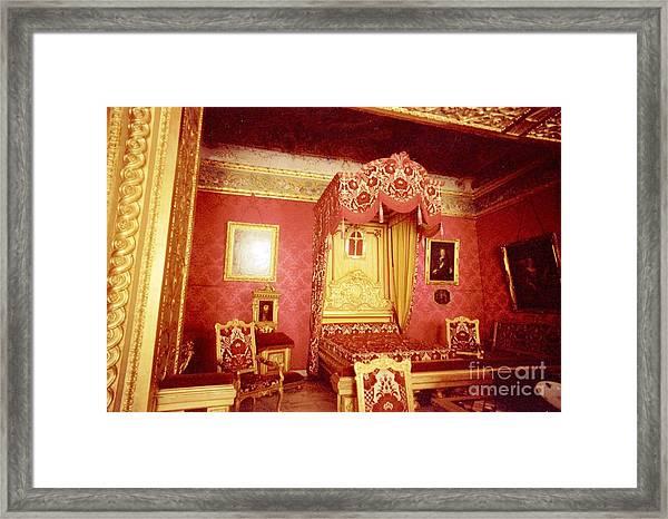 Monaco Palace Bedroom Framed Print