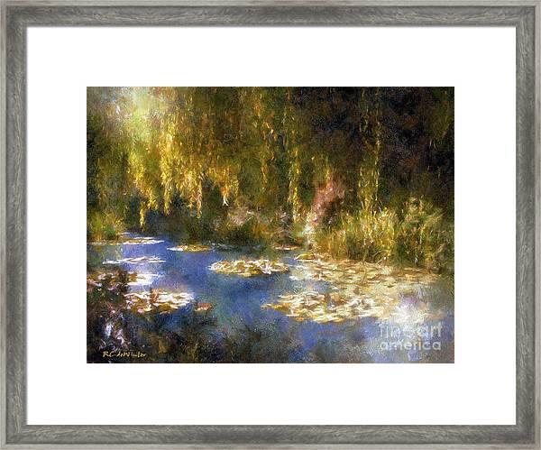 Monet After Midnight Framed Print