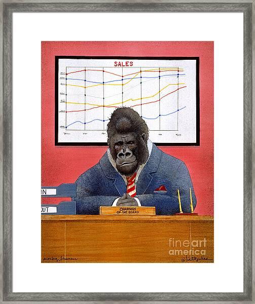 Monkey Business... Framed Print