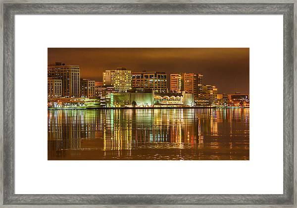 Monona Terrace Madison Wisconsin Framed Print