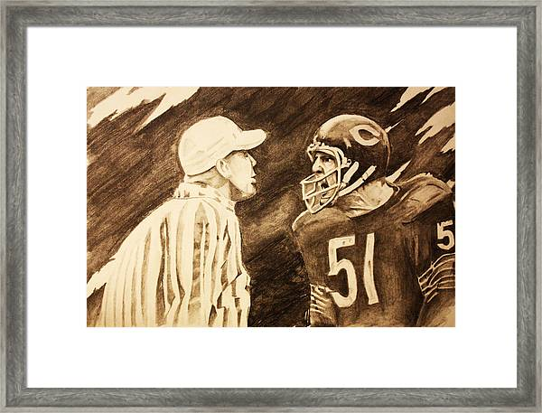 Monster Of The Midway Framed Print