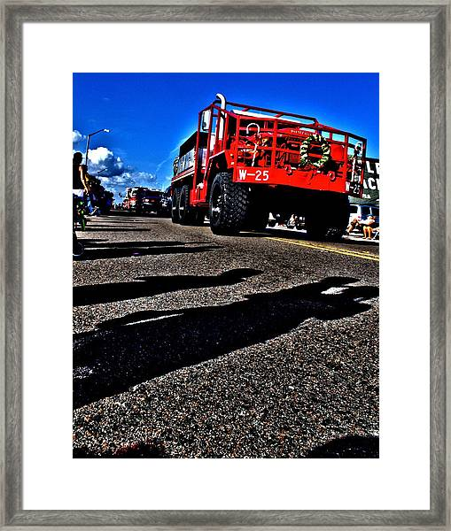 Monster Truck Framed Print