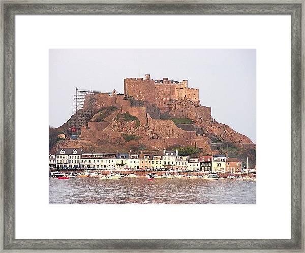 Mont Orgueil Gorey Castle Framed Print