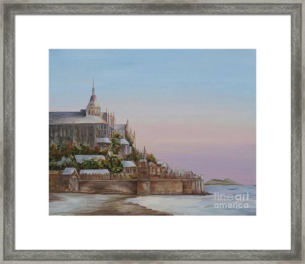 Mont St. Michel Framed Print