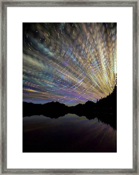 Montana Skies Framed Print