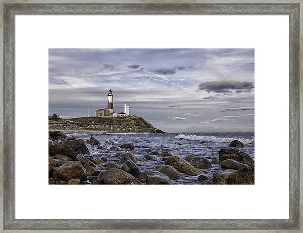 Montauk Afternoon Framed Print