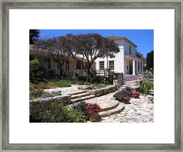 Monterey City Hall Framed Print