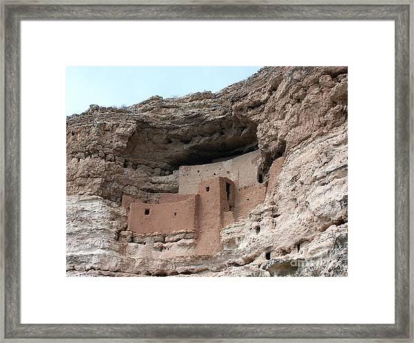 Montezuma Castle 3 Framed Print