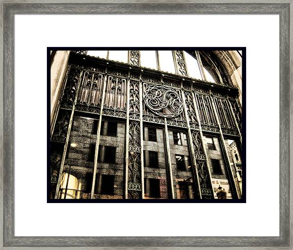 Montreal Rm En Couleur Framed Print