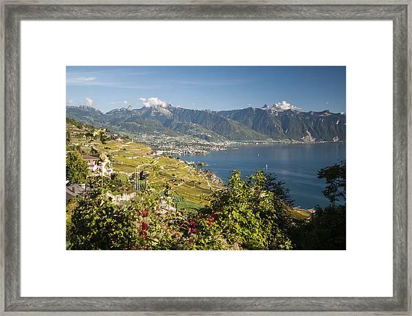 Montreux On Lake Geneva Framed Print