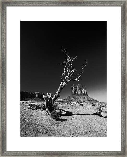 Monument Framed Print by Vinicio Triglia