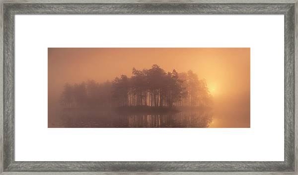Moody Framed Print by Andreas Christensen