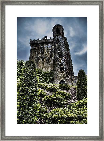 Moody Castle Framed Print
