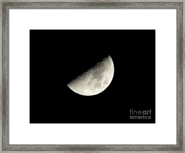 Moon 1 Framed Print